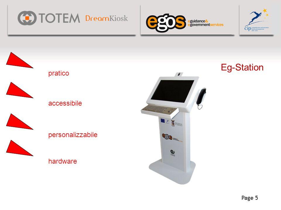 Eg-Station pratico accessibile personalizzabile hardware Page 5