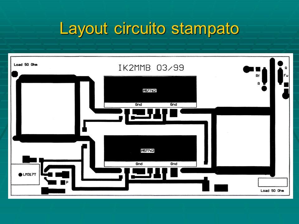 Layout circuito stampato
