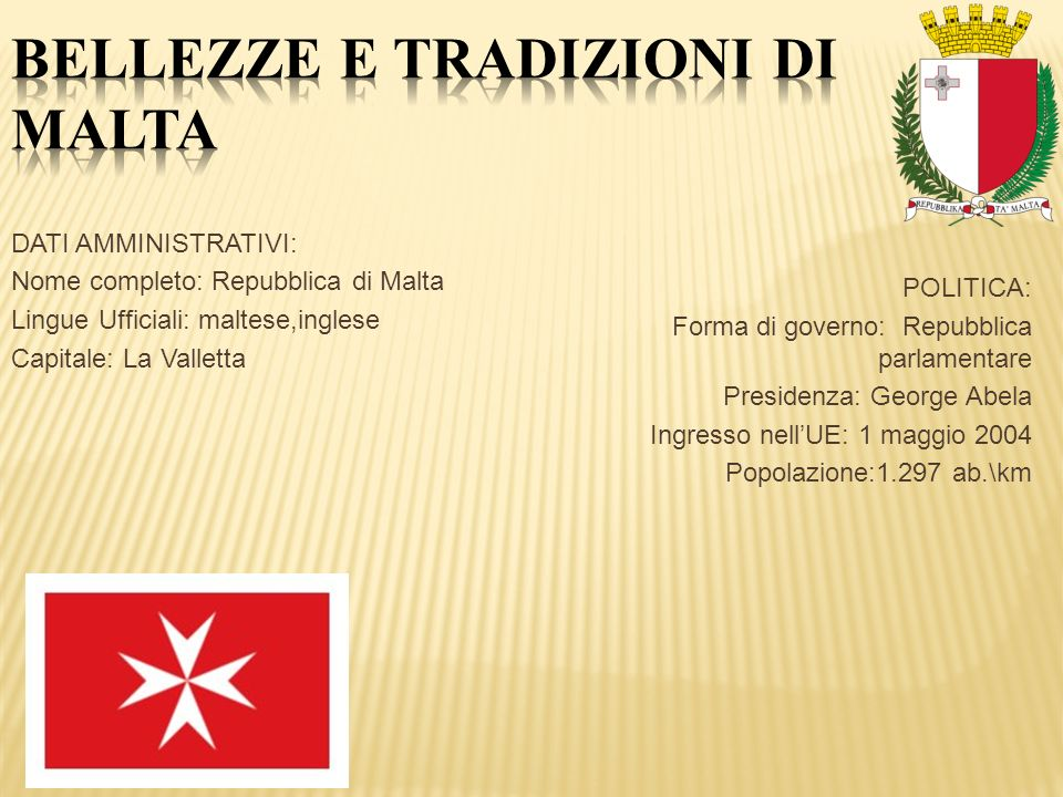 Bellezze e tradizioni di Malta