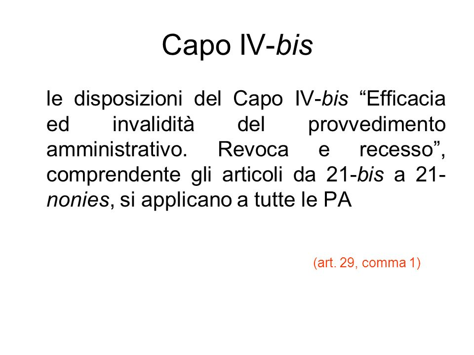 Capo IV-bis
