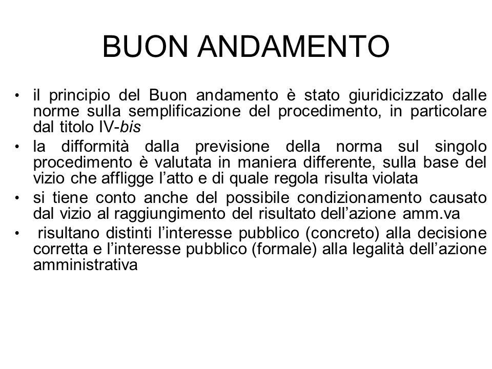 BUON ANDAMENTO