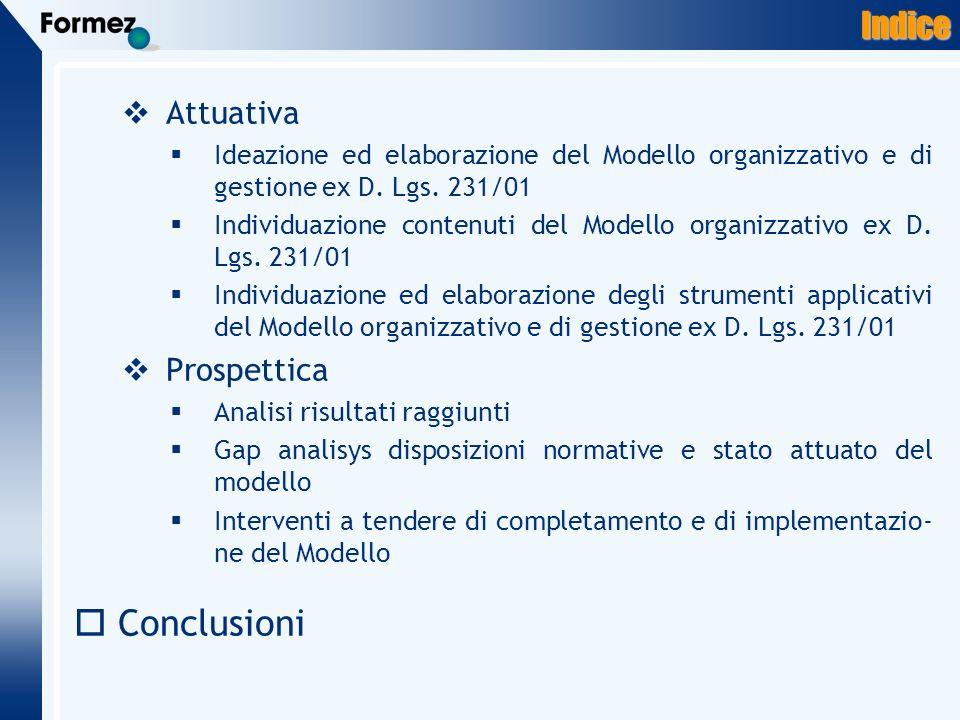 Conclusioni Indice Attuativa Prospettica