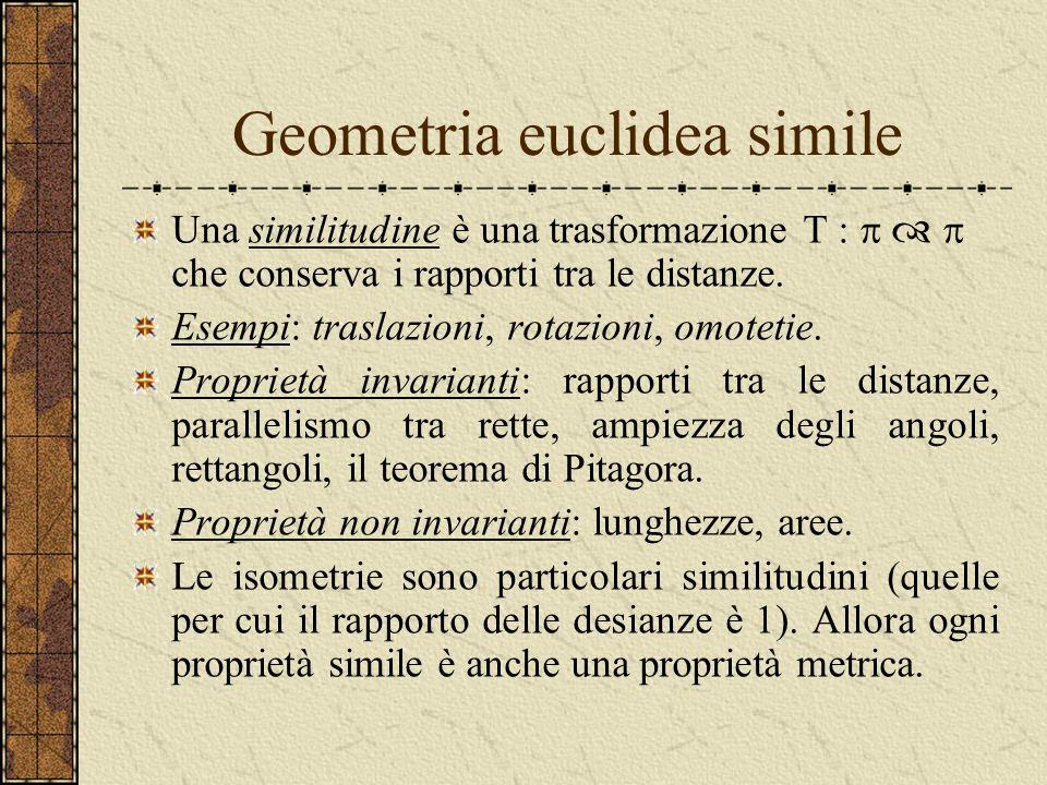 Geometria euclidea simile
