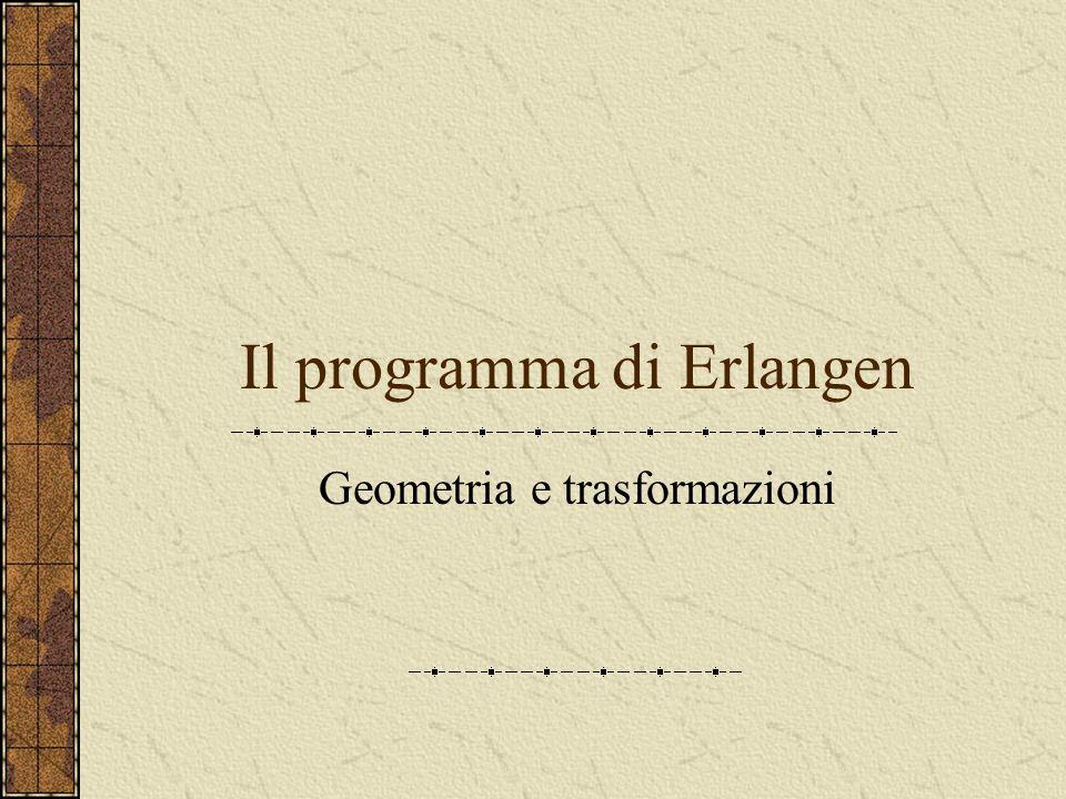Il programma di Erlangen