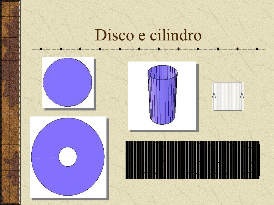 Disco e cilindro