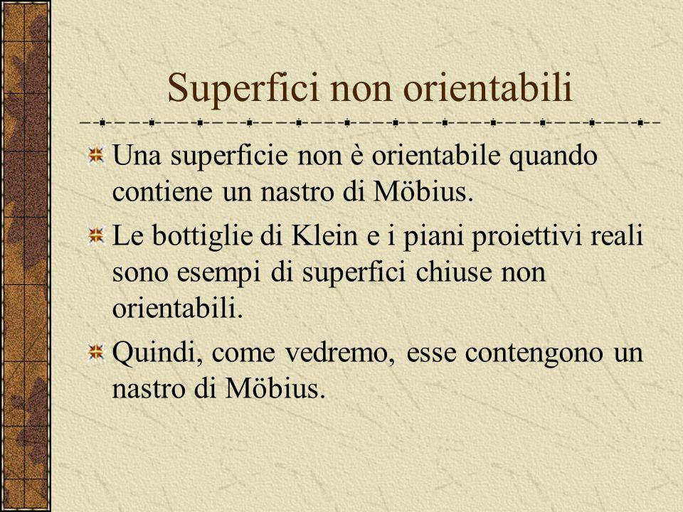 Superfici non orientabili