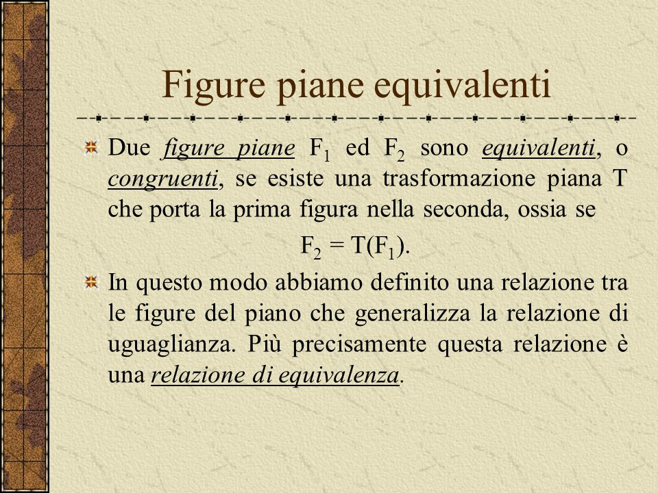 Figure piane equivalenti