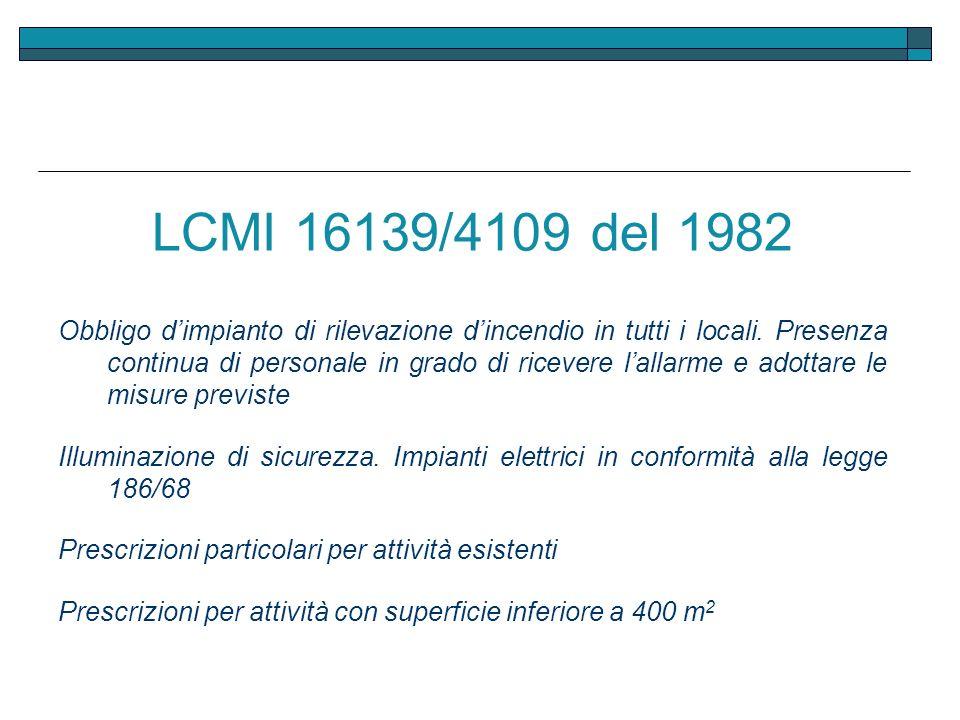 LCMI 16139/4109 del 1982