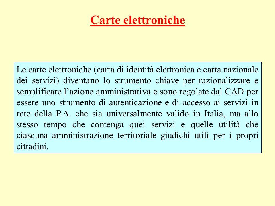 Carte elettroniche