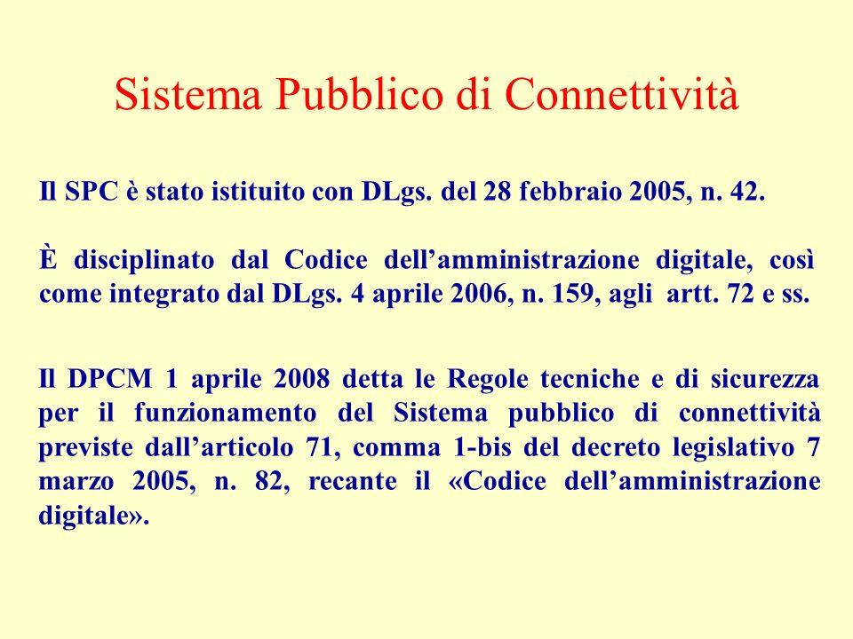 Sistema Pubblico di Connettività