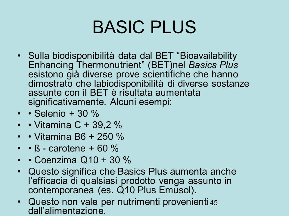 BASIC PLUS