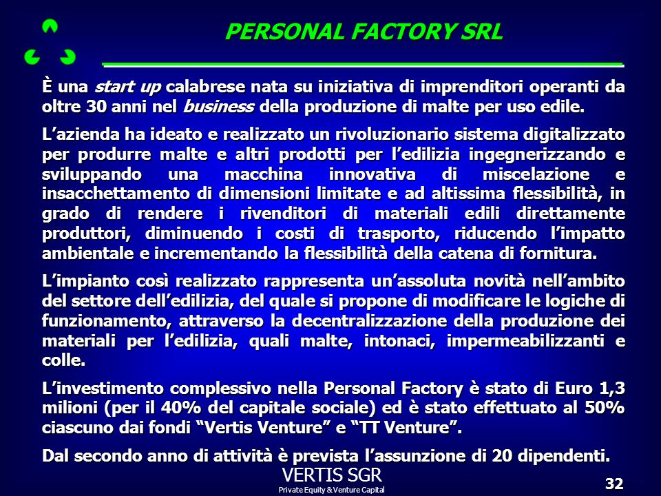 PERSONAL FACTORY SRL