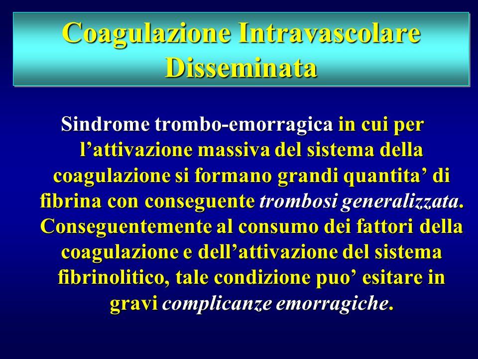 Coagulazione Intravascolare Disseminata