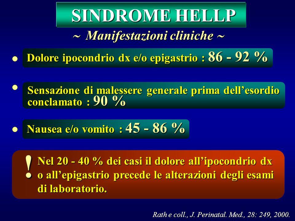Rath e coll., J. Perinatal. Med., 28: 249, 2000.