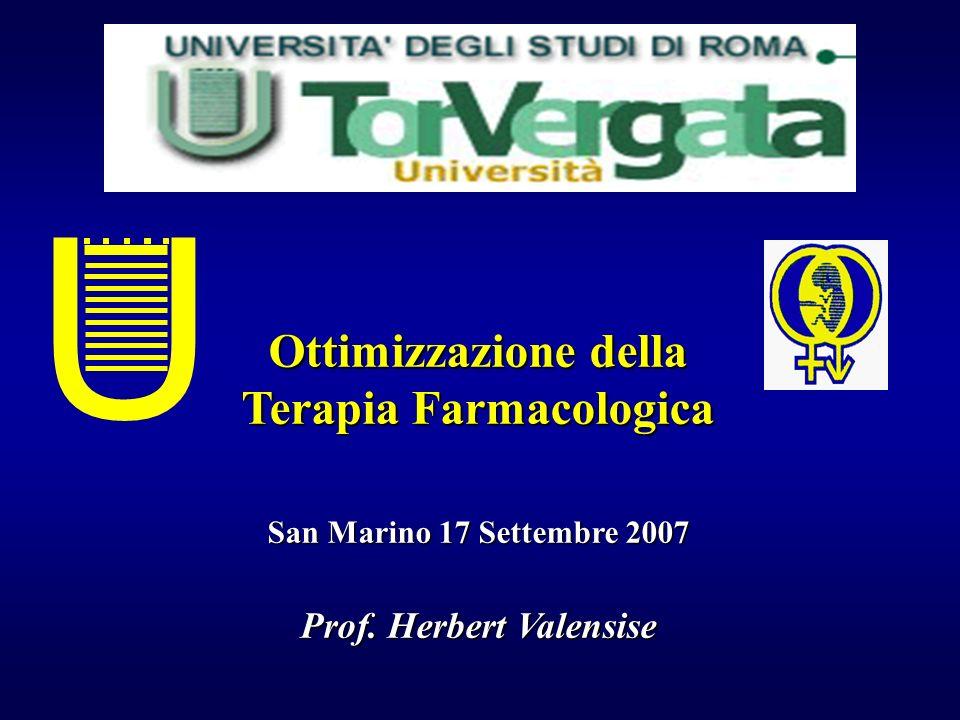 Terapia Farmacologica Prof. Herbert Valensise