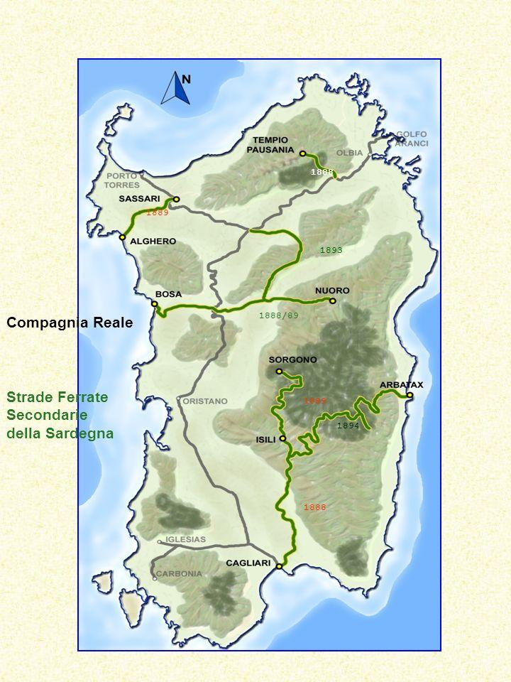 Strade Ferrate Secondarie della Sardegna