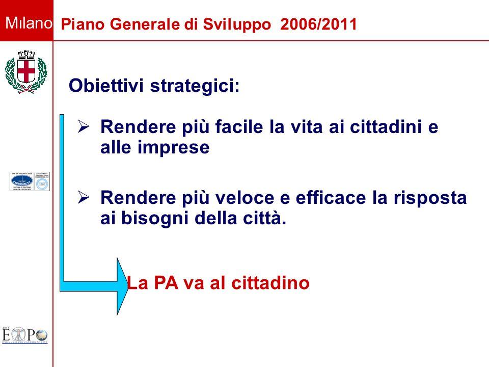 Piano Generale di Sviluppo 2006/2011