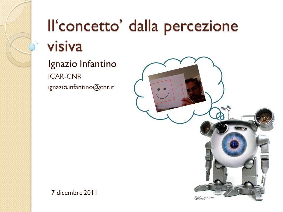 Il'concetto' dalla percezione visiva