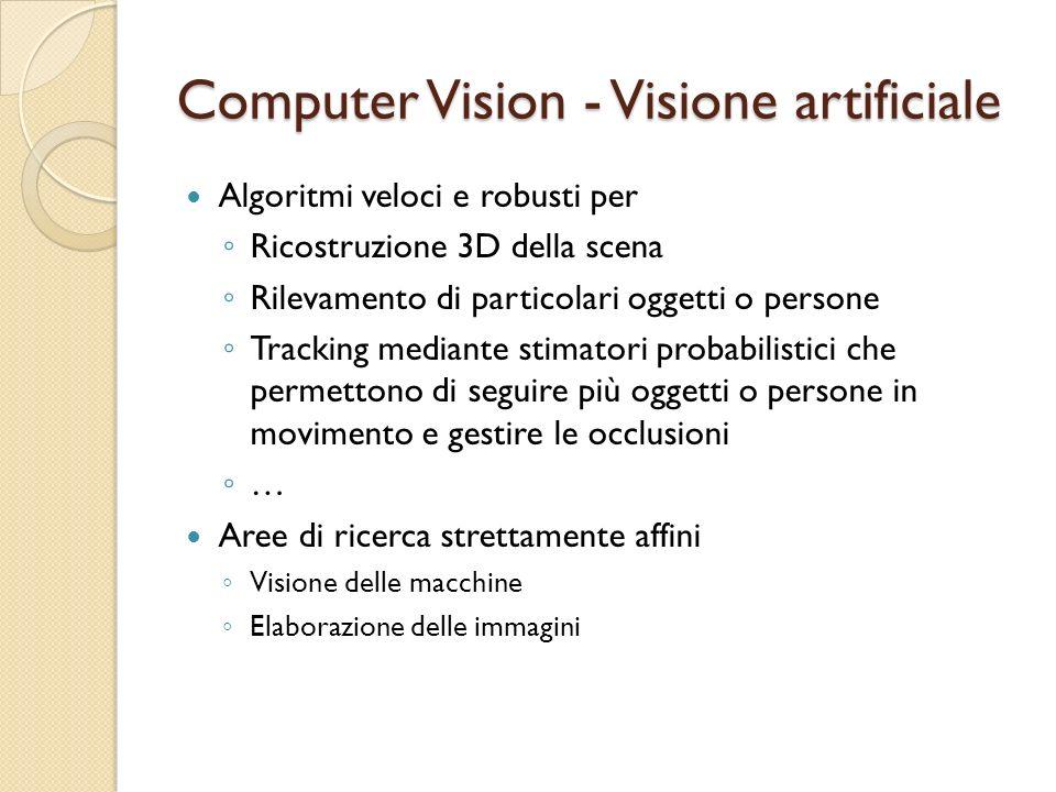 Computer Vision - Visione artificiale