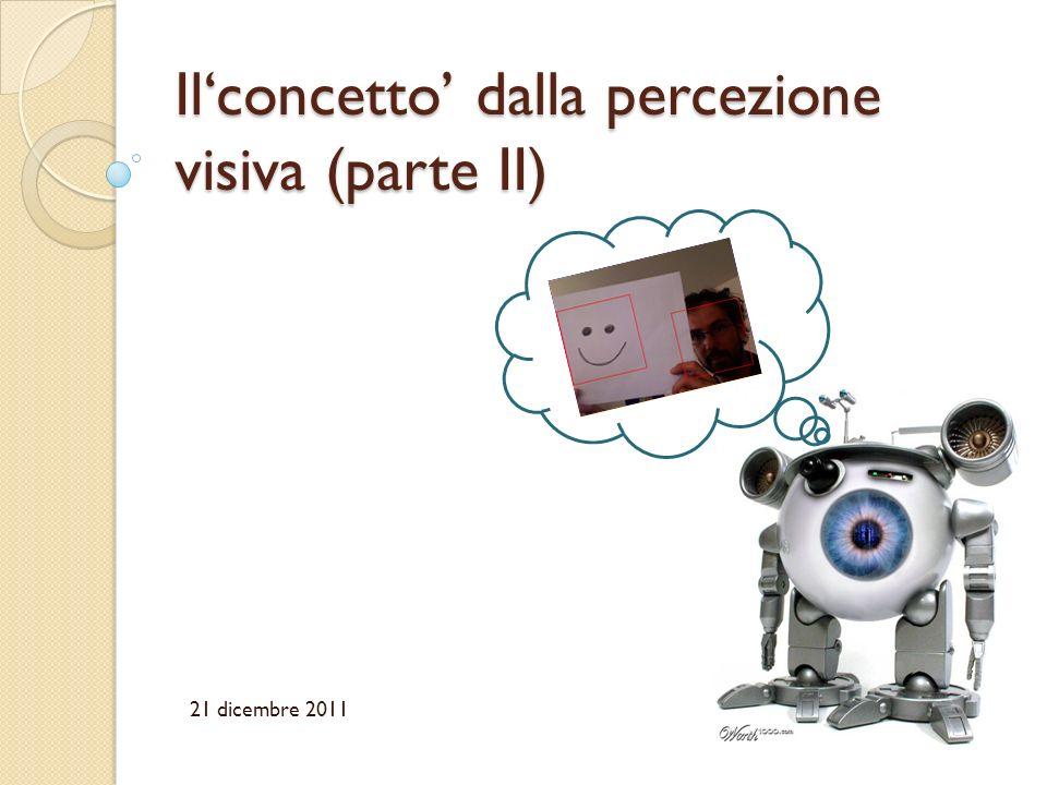 Il'concetto' dalla percezione visiva (parte II)