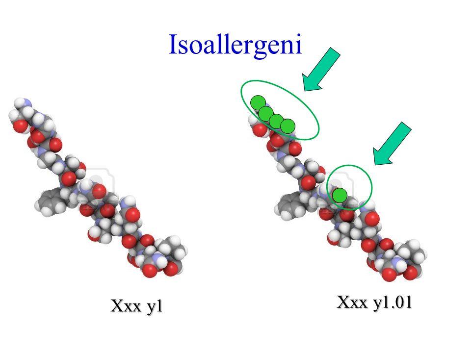 Isoallergeni Xxx y1.01 Xxx y1