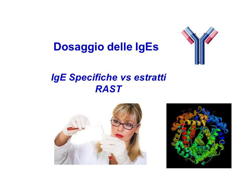 IgE Specifiche vs estratti