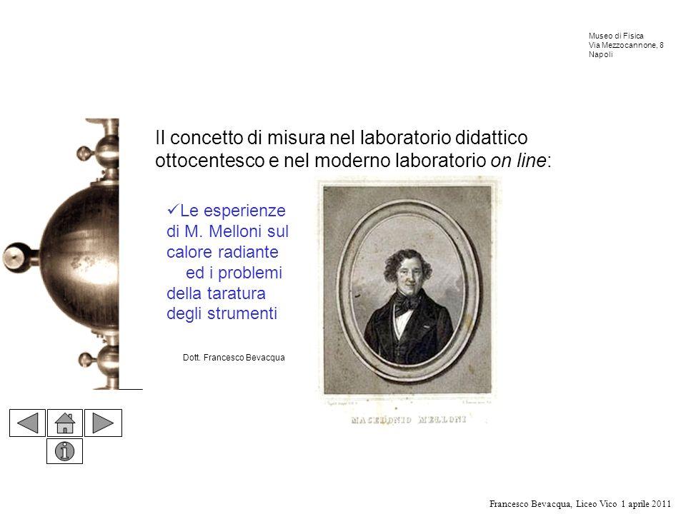 Il concetto di misura nel laboratorio didattico