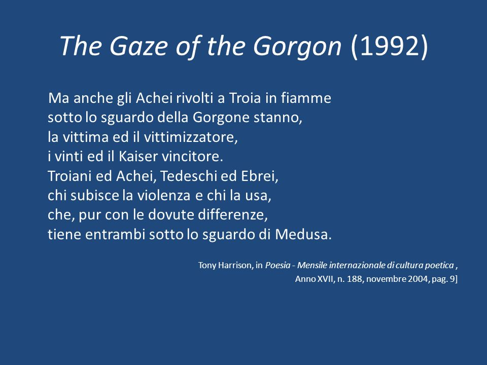 The Gaze of the Gorgon (1992)