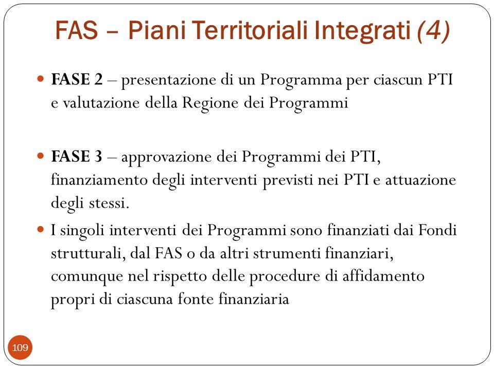 FAS – Piani Territoriali Integrati (4)
