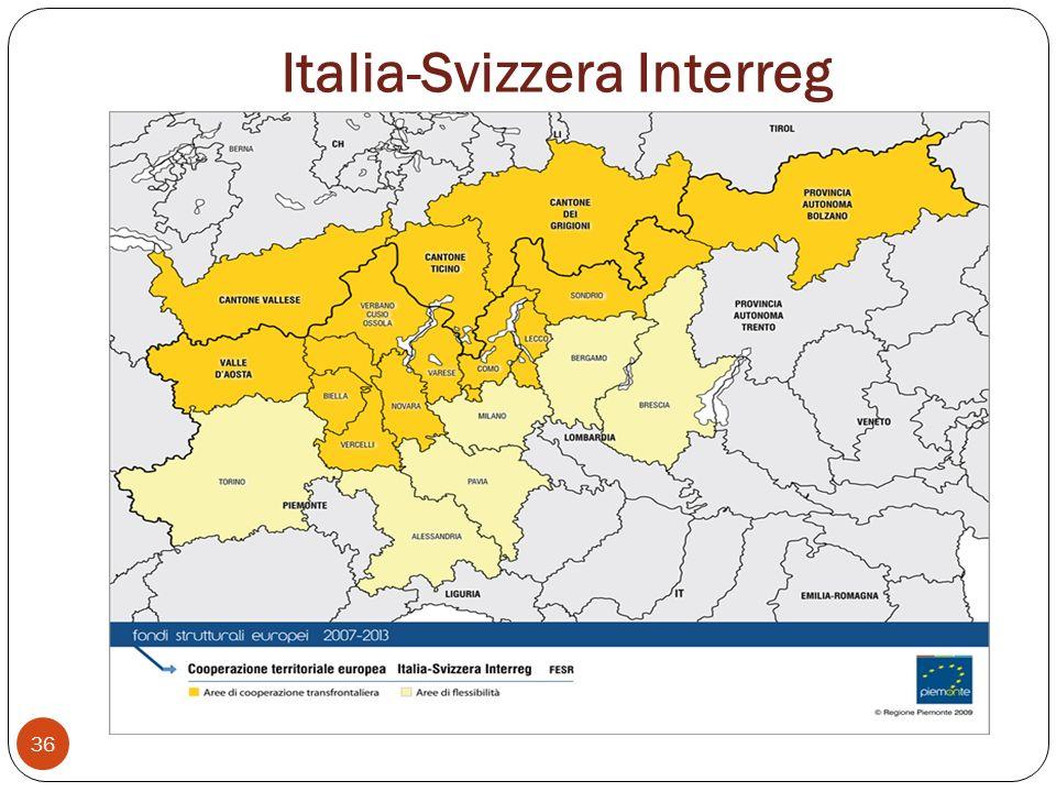 Italia-Svizzera Interreg