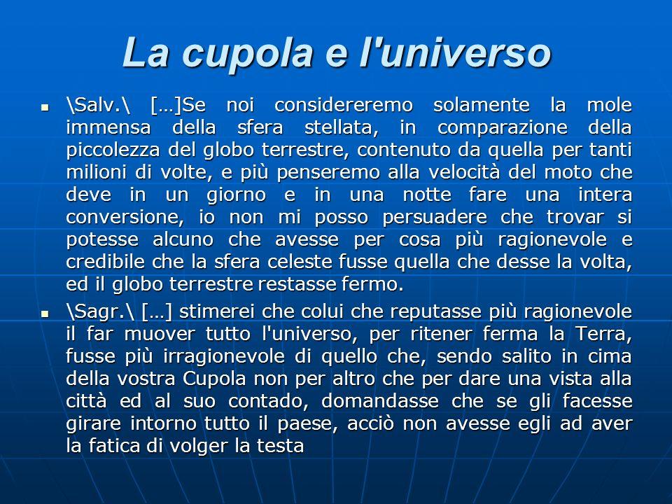 La cupola e l universo