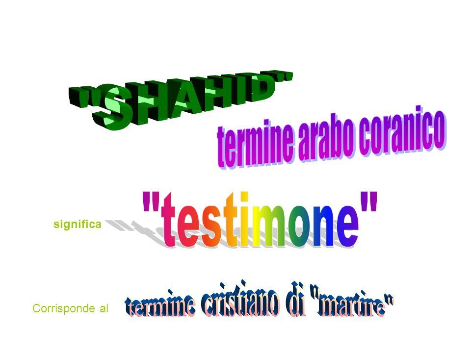 termine arabo coranico