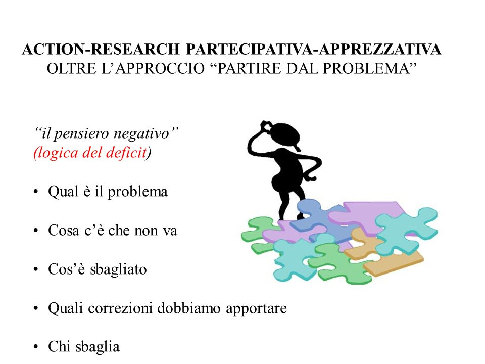 ACTION-RESEARCH PARTECIPATIVA-APPREZZATIVA