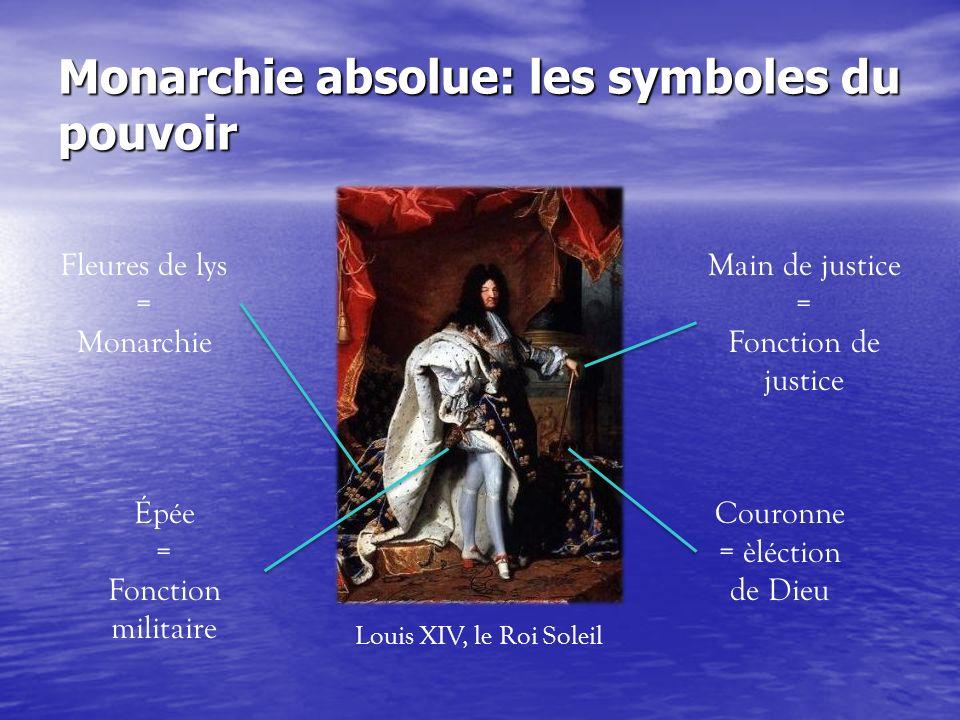 Monarchie absolue: les symboles du pouvoir