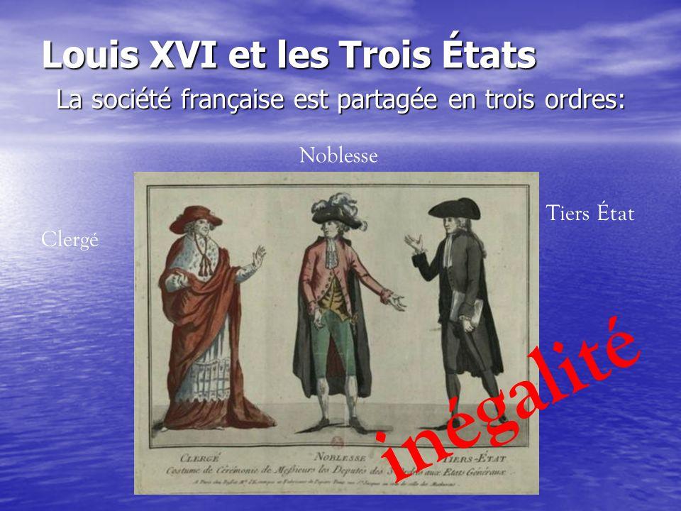 Louis XVI et les Trois États