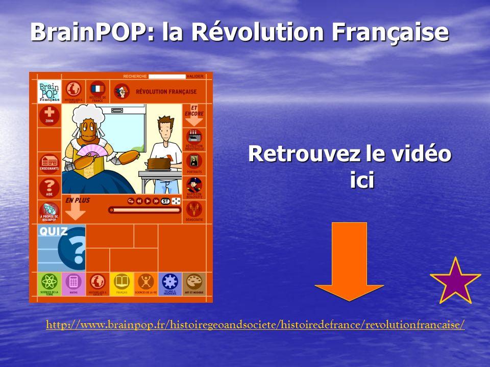 BrainPOP: la Révolution Française