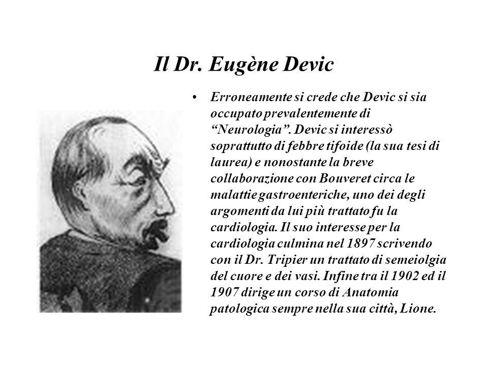 Il Dr. Eugène Devic
