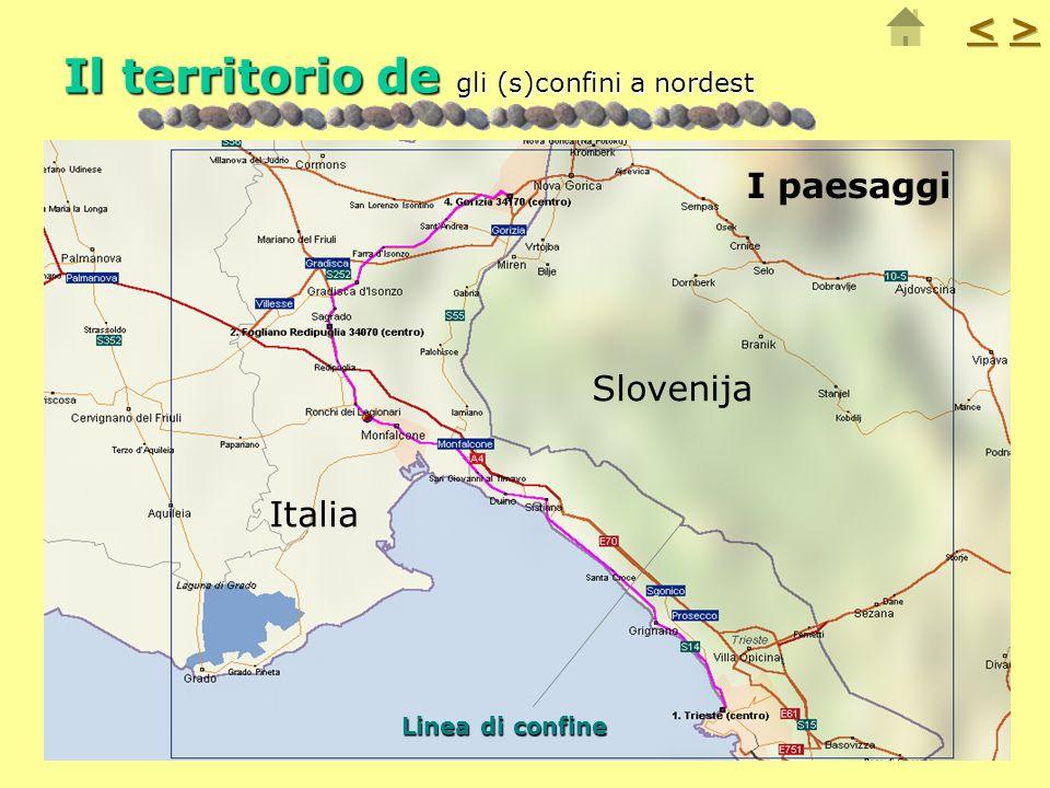 Il territorio de gli (s)confini a nordest