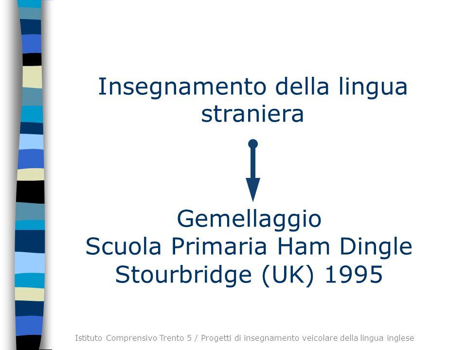 Insegnamento della lingua straniera