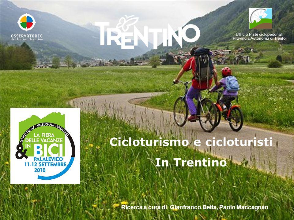 Cicloturismo e cicloturisti In Trentino
