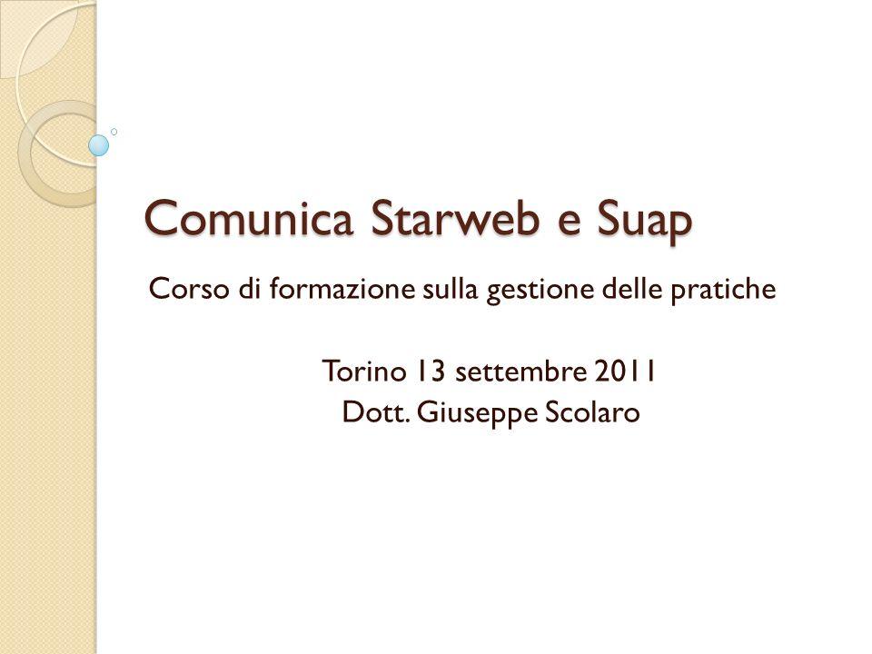 Comunica Starweb e Suap