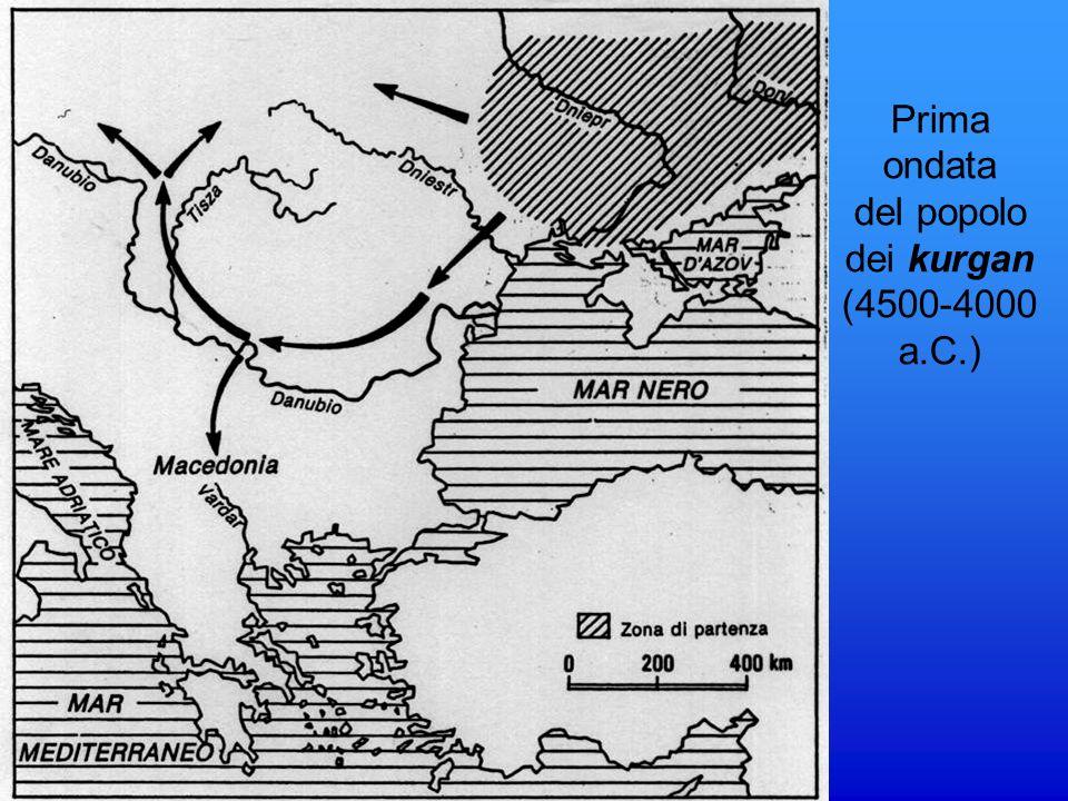Prima ondata del popolo dei kurgan (4500-4000 a.C.)