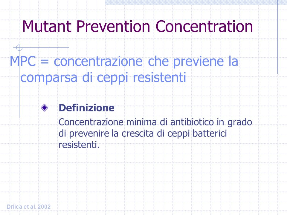 Mutant Prevention Concentration