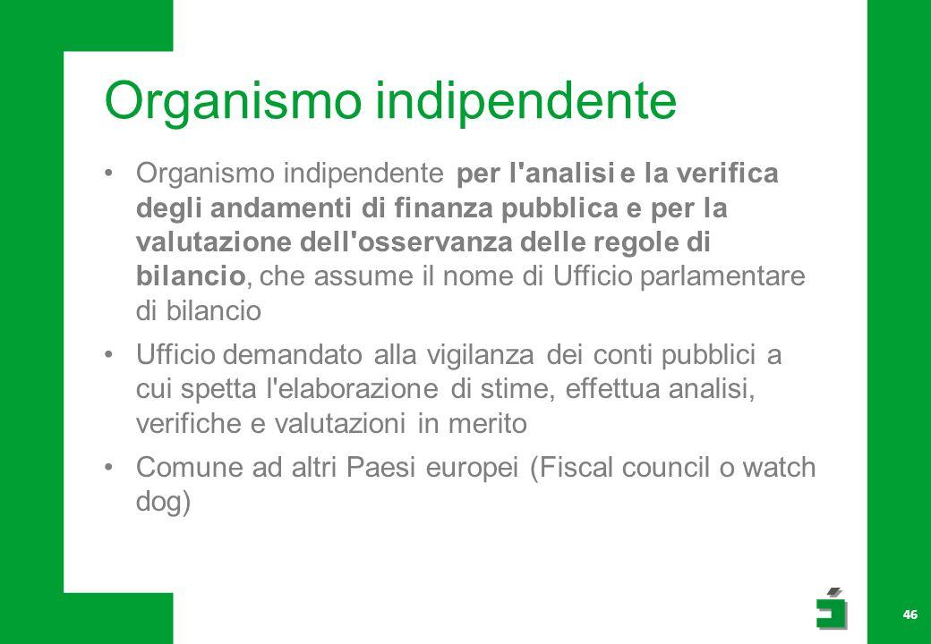 Organismo indipendente