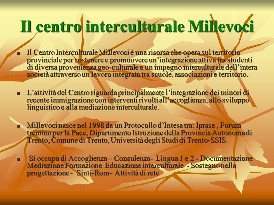 Il centro interculturale Millevoci