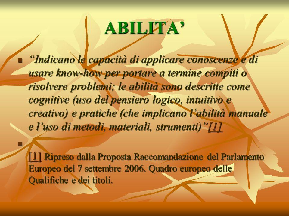 ABILITA'