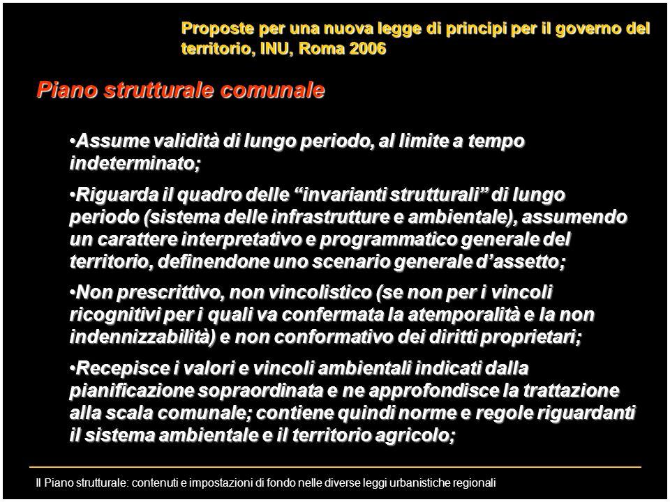 Piano strutturale comunale
