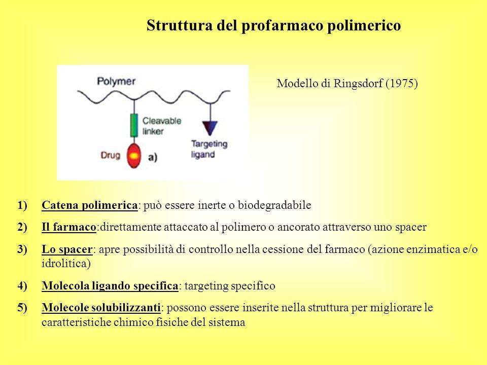 Struttura del profarmaco polimerico