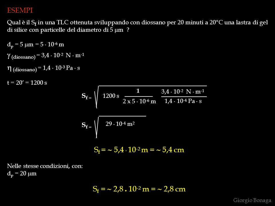 (diossano) = 3,4 . 10-2 N . m-1 (diossano) = 1,4 . 10-3 Pa . s