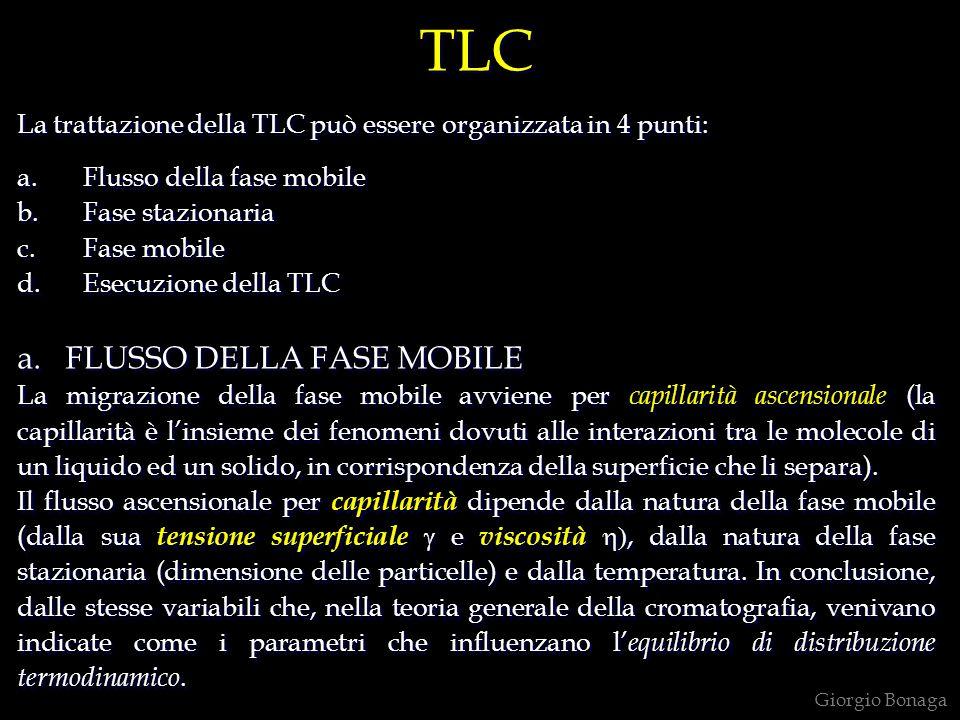 TLC a. FLUSSO DELLA FASE MOBILE